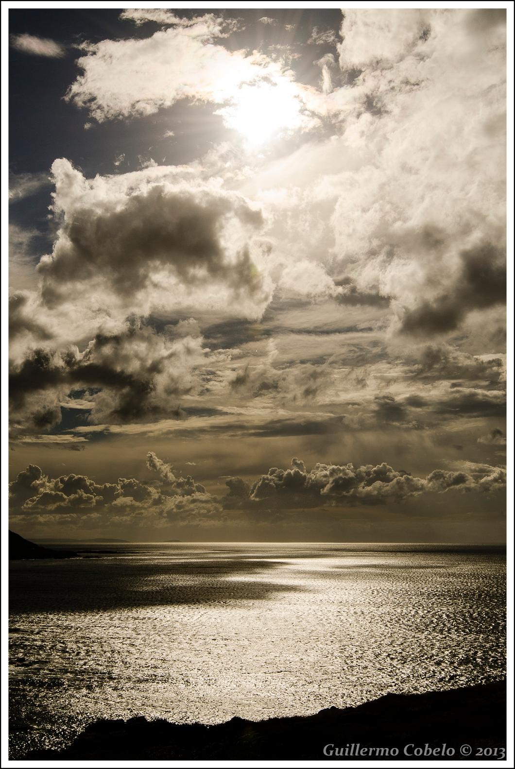 Puesta de Sol vista desde La Coruña