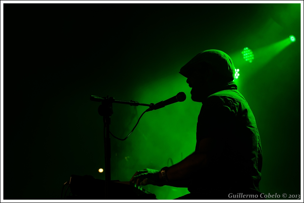 Del concierto de NachaPop en la RSD Hípica de La Coruña.