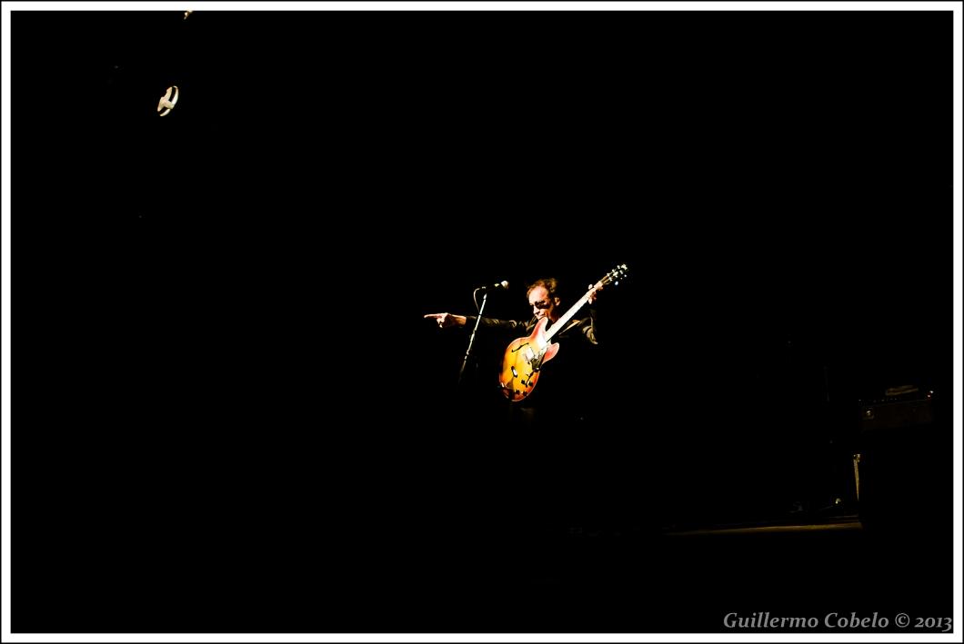 Del concierto de Nacha Pop en la RSD Hípica de La Coruña.