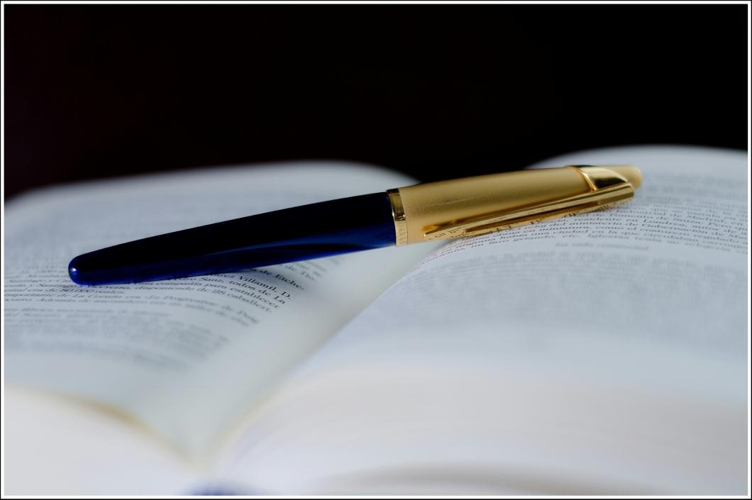 Los que dicen que no les gusta escribir es porque nunca lo han hecho con una buena pluma acariciando sus dedos.